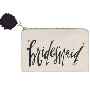 Bridesmaid Cosmetic Bag Collins